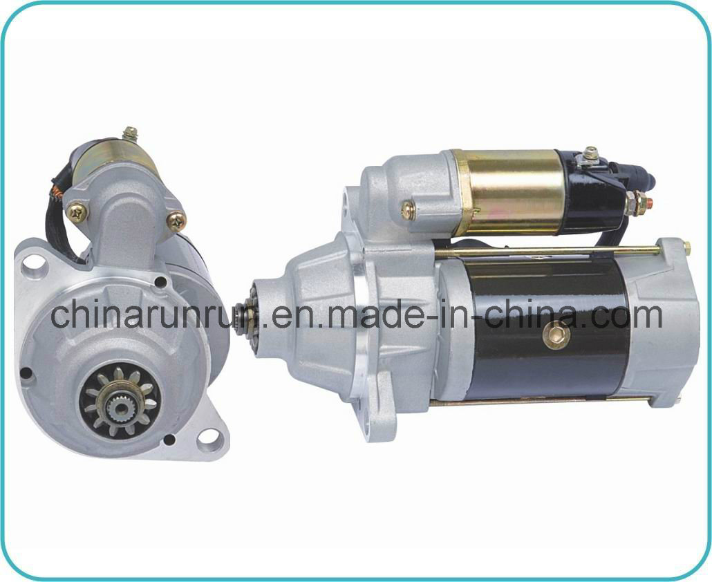 Starter Motor for Mitsubishi 6D14 (M3T56071 24V 5.5kw 11t)