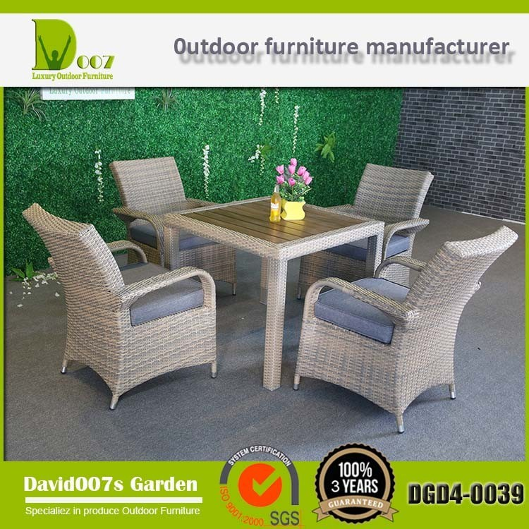 Outdoor Furniture Dining Set for Garden
