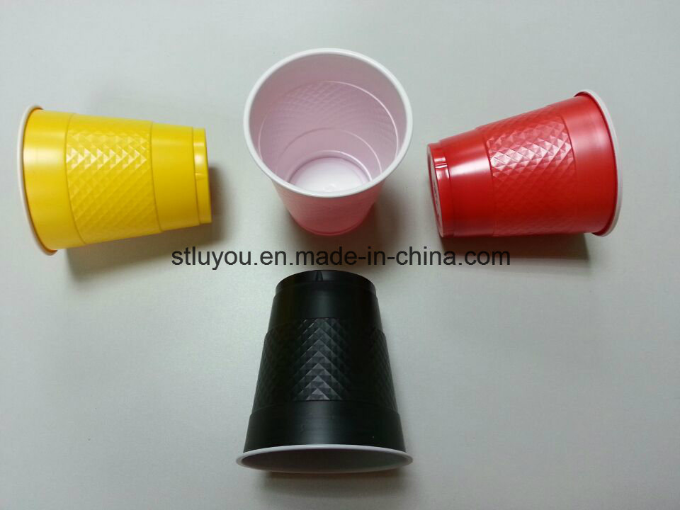 Disposable Plastic 355ml Double Color Solo Party Cup