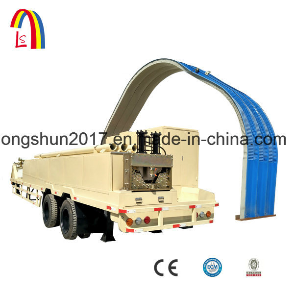 Ultimate Building Machine 240 Span Roll Forming Machine for Multi Shapes Steel Buildings