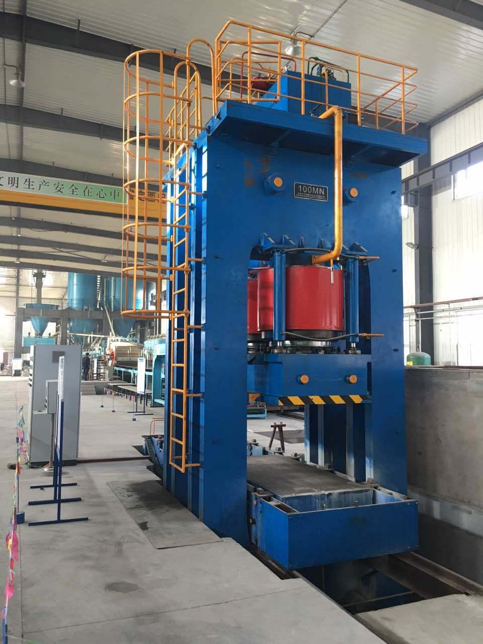10000t Hydraulic Press for Pressing Fiber Cement Board