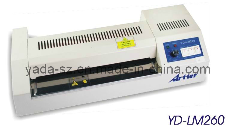 Temperature Adjustable Metal Pouch Laminator YD-LM260
