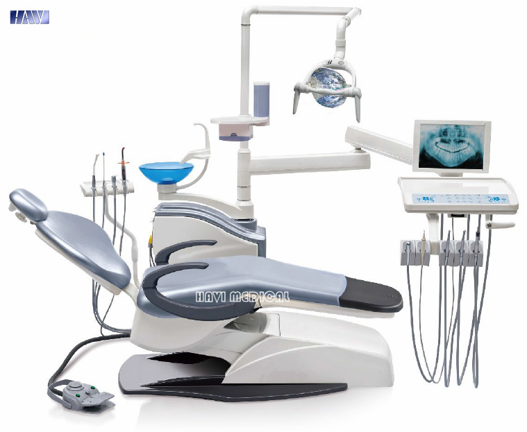 Luxury Leather Dental Unit with Ce Approval