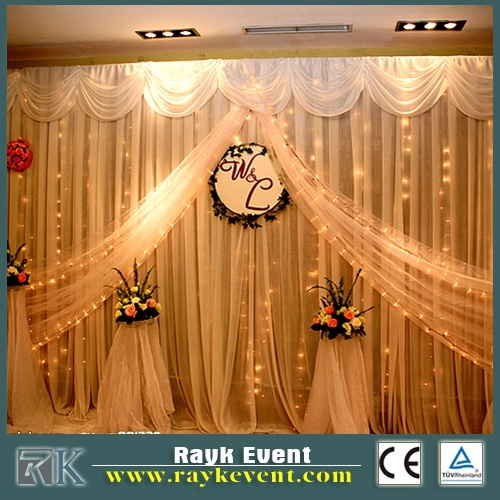 China Pipe And Drape Kits For Wedding Stage Backdrop Decoration Photos Amp Pictures