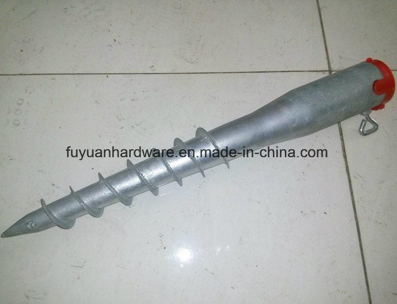 Ce Certification Hot DIP Galvanized Ground Screw