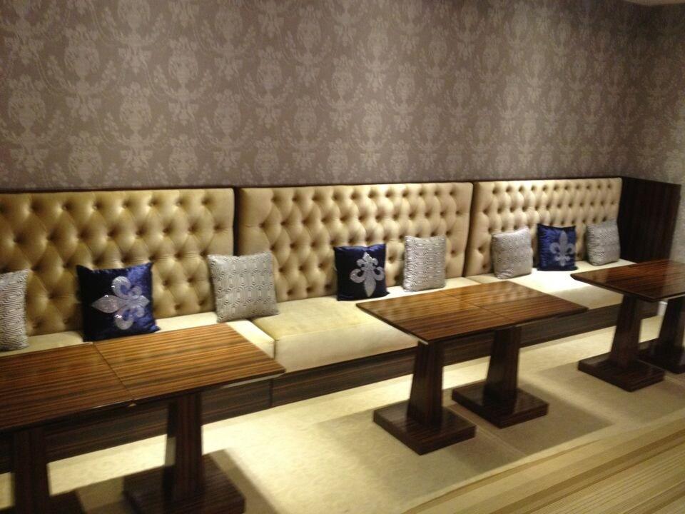 Luxury Hotel Sofa for KTV Club/Luxury Sofa for Night Club/Hotel Dining Sofa (GLSSD-003)