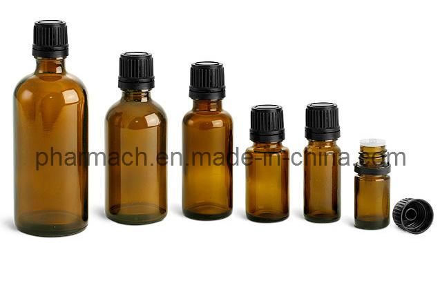 Amber Essential Oil Glass Dropper Bottle (10ml, 15ml, 30ml)