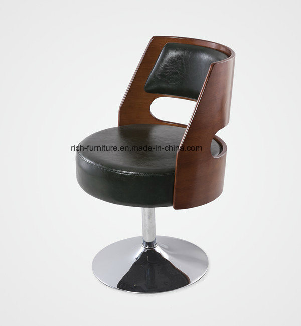 High Quality Modern Living Room Wood Dining Leisure Chair