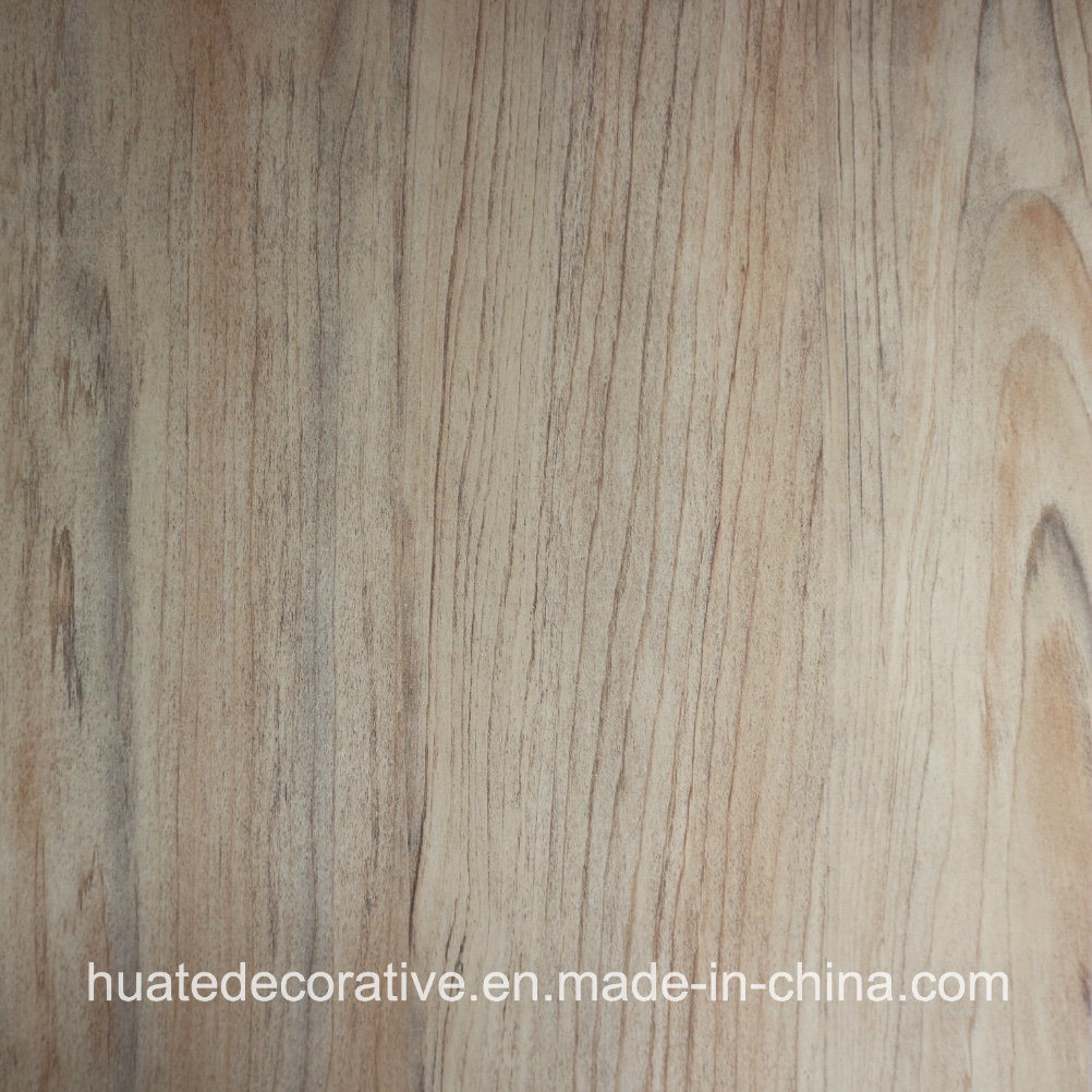 Wood Grain Design Paper for Furniture, Pre Printing Surfaced Paper