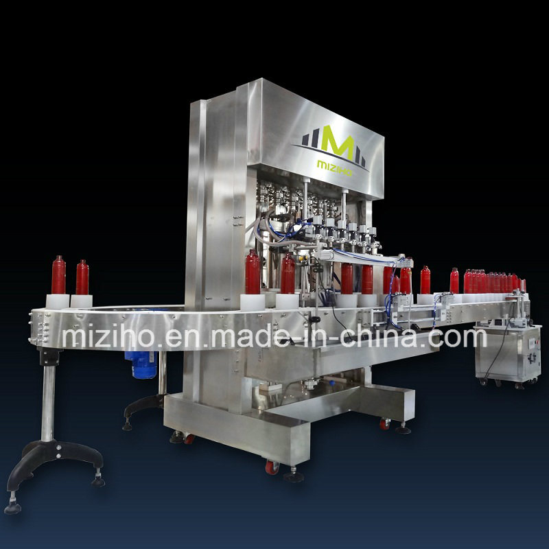 Mzh-F Fully Automatic Liquid Shampoo Filling Machine