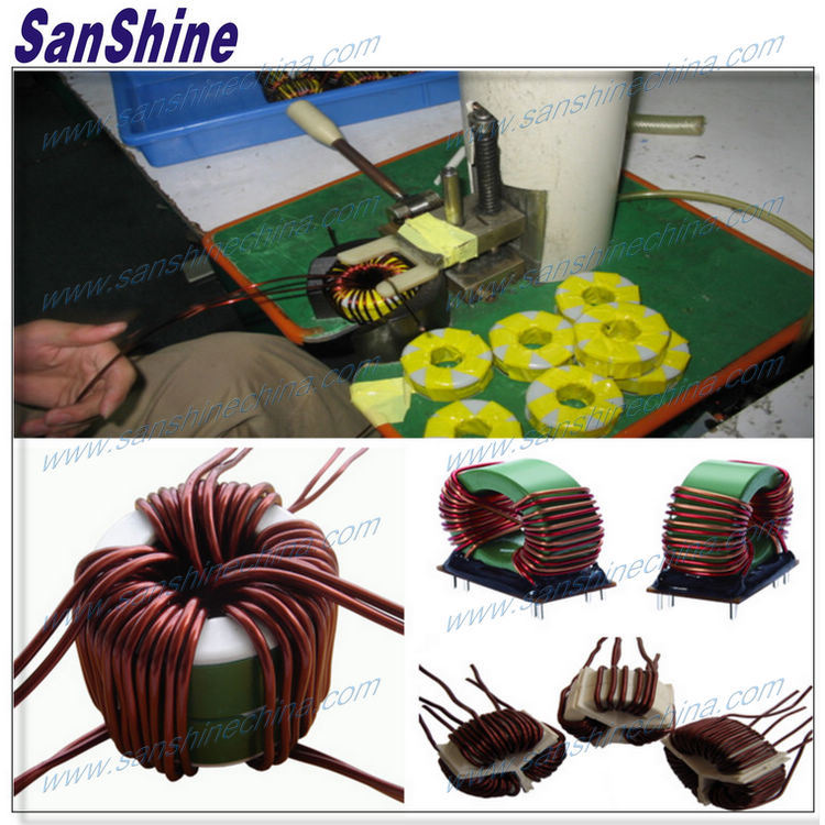 Semiautomatic Toroid Coil Winding Machine (SS-200)