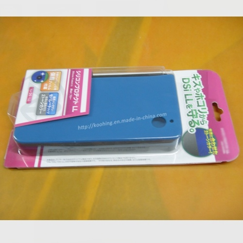 Back Sealed with Printed Insert Paper Card Plastic Blister Packaging