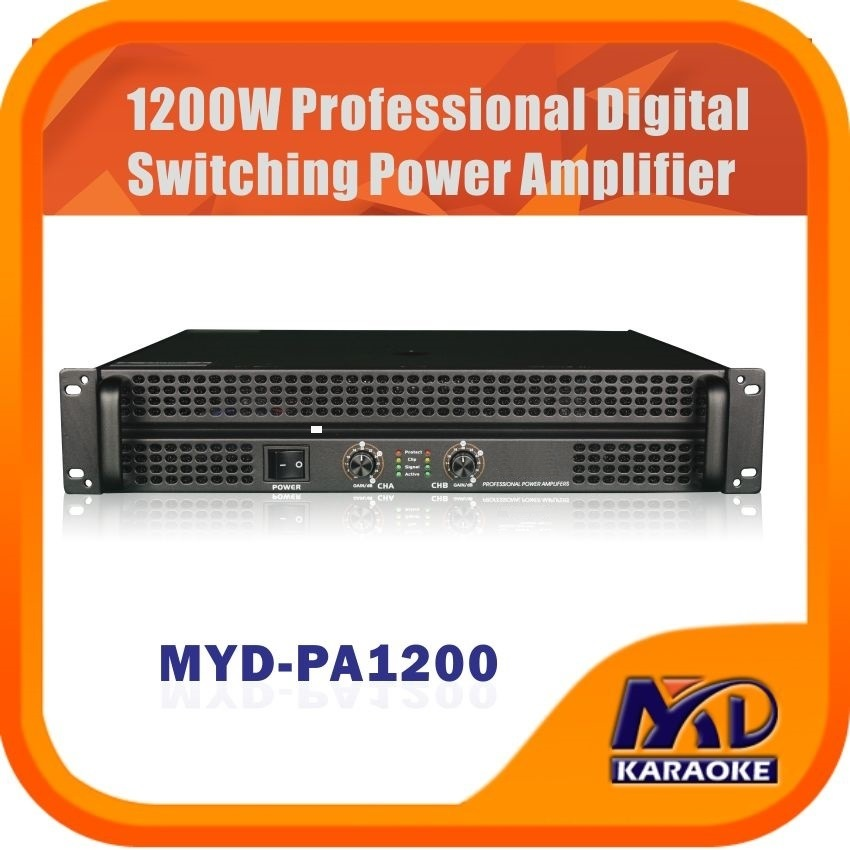 Professional Digital Switching Power Amplifier 1200W