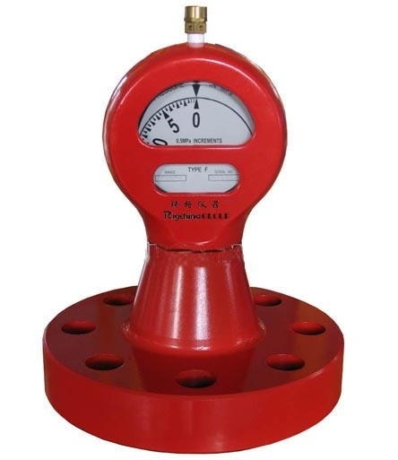 Flanged Mud Pump Pressure Indicator