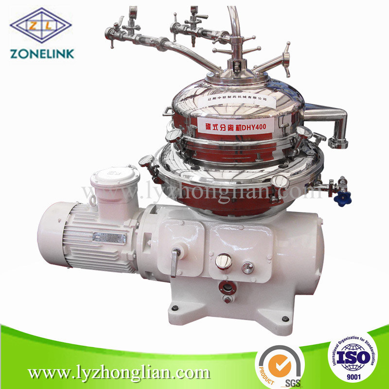 Automatic Discharge Three-Phase Disc Centrifuge Separator for Various Oils