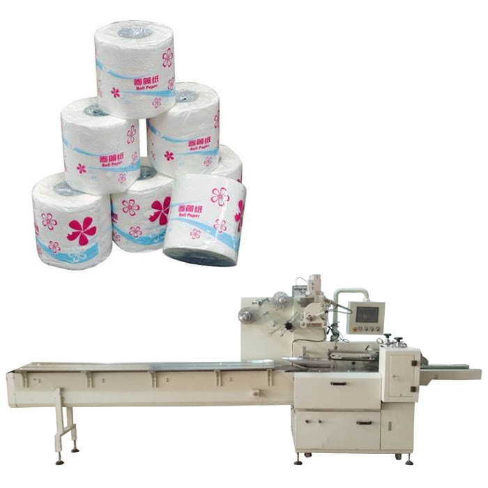 Toilet Paper Roll Packing Machine for Tissue Making Line