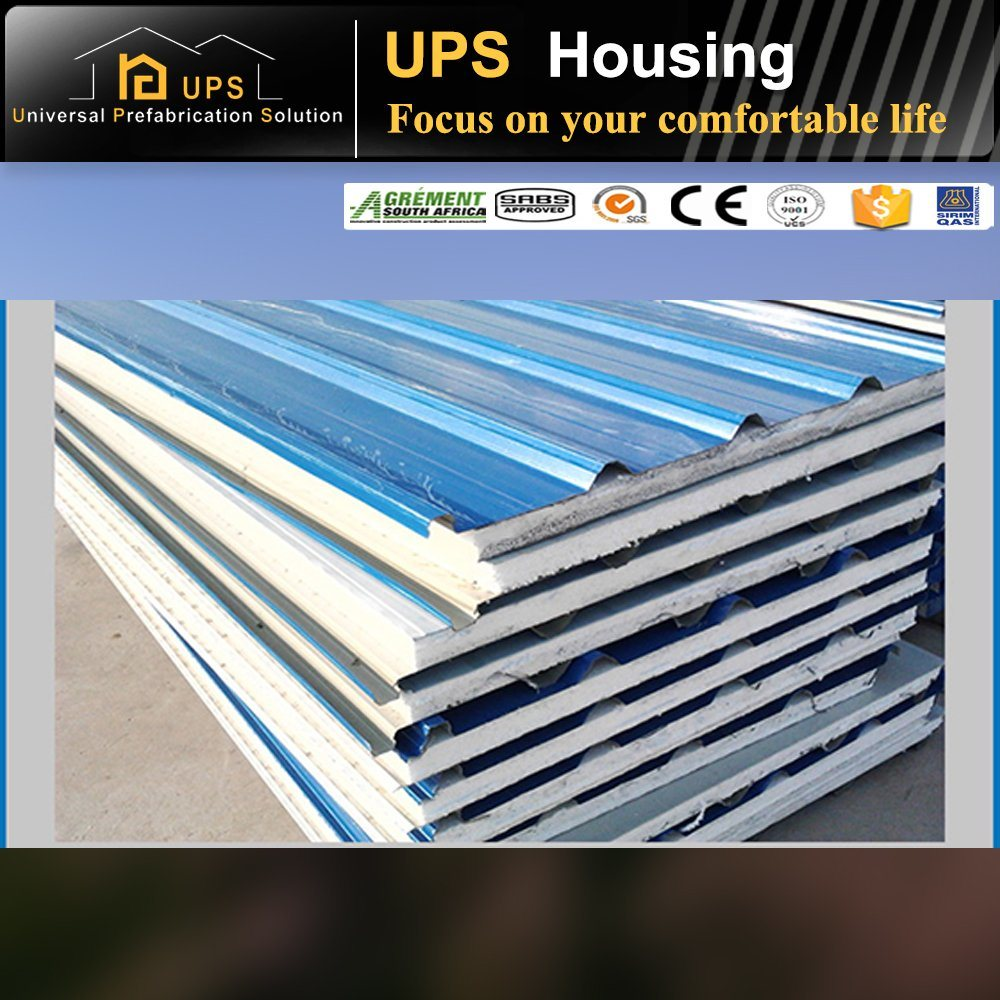 ISO Certificated Easy Assembling Sandwich Panel for Prefabricated House