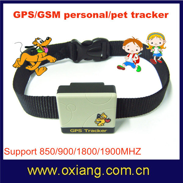 Mini Waterproof GPS/GSM Child/Pets Tracker Gt201-2