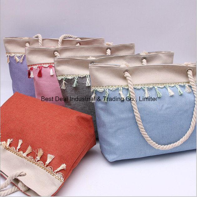 Singleside Flower Line Lady Bag