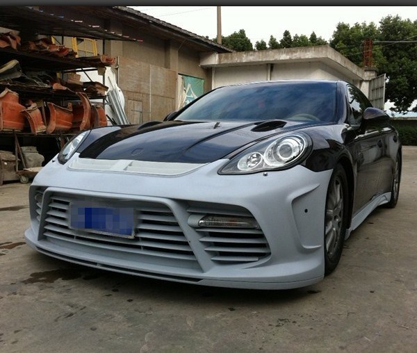 China Fiber Glass Mansory Front Bumper For 2011-2012