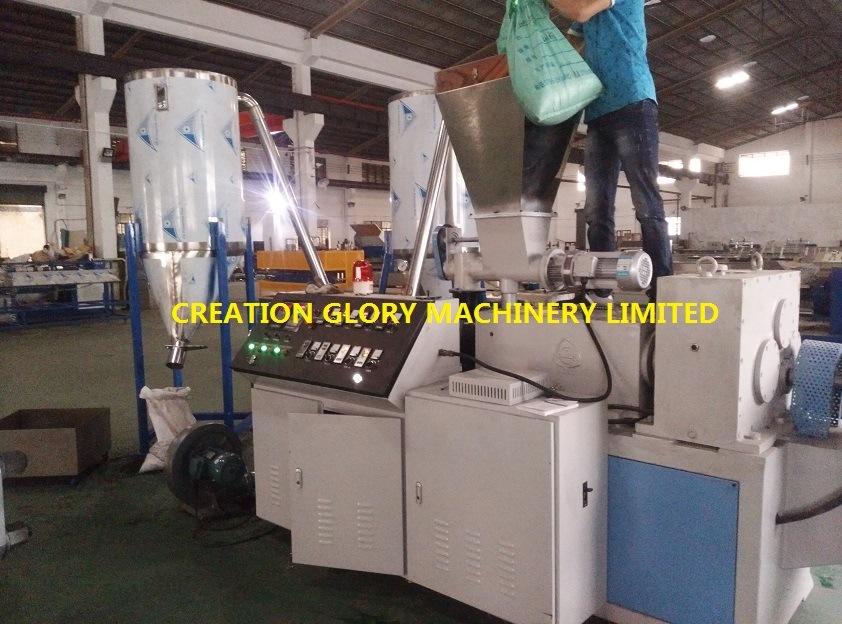 High Efficiency Color Master Batch Extrusion Granulator Production Line