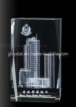 Crystal Inner Laser Building with Strong Material in China