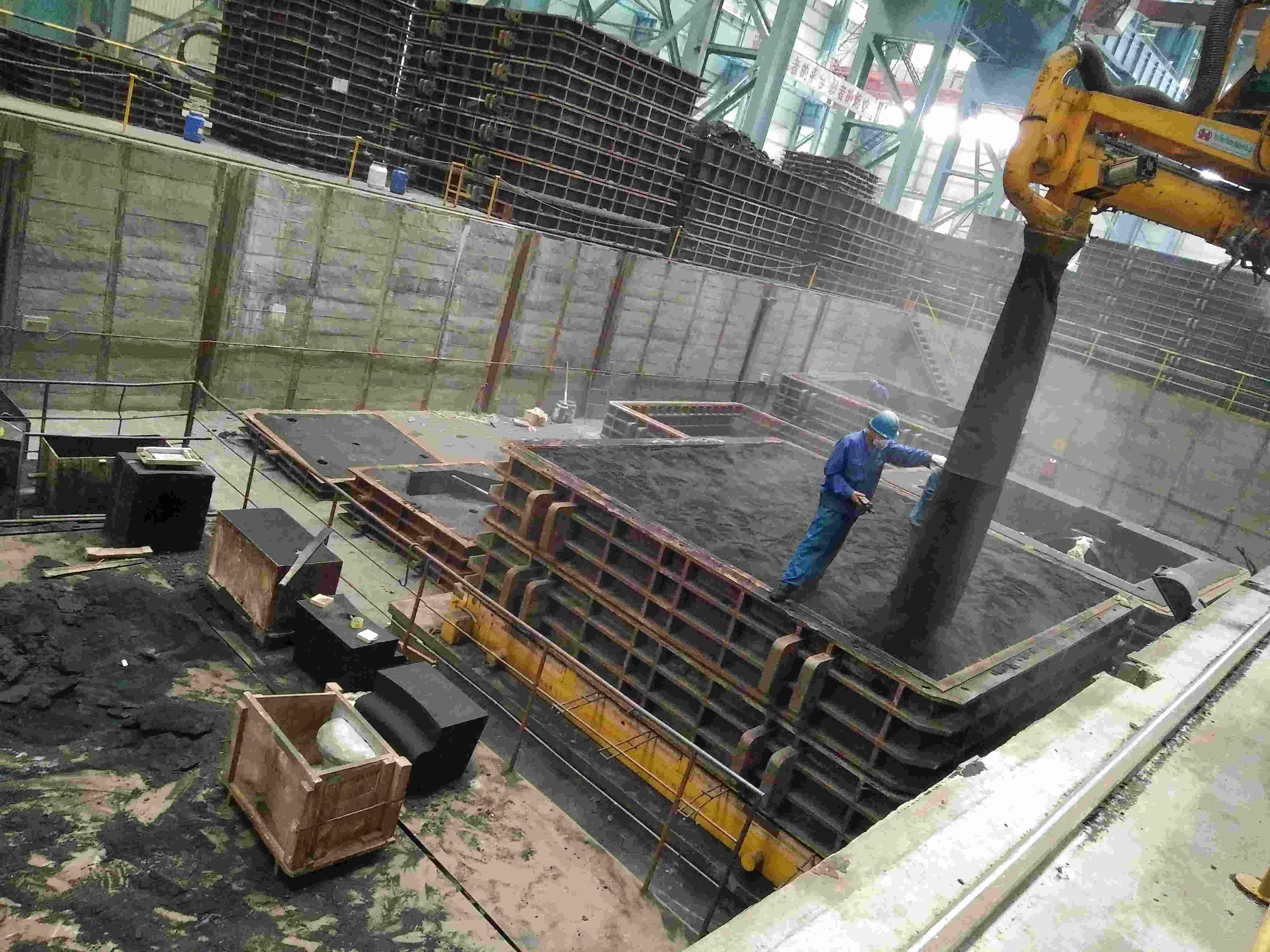 Low Nitrogen Furan Resin for Steel Casting