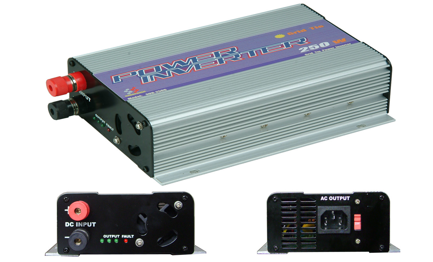 China 250w Inverter Power Inverter Solar Inverter Grid