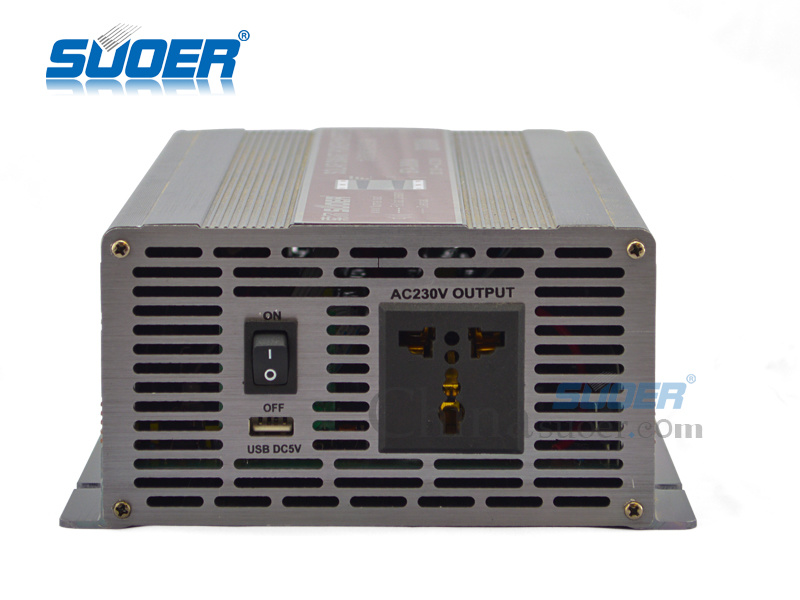 Suoer Power Inverter 2000W Solar Inverter 12V to 220V (STA-2000A)
