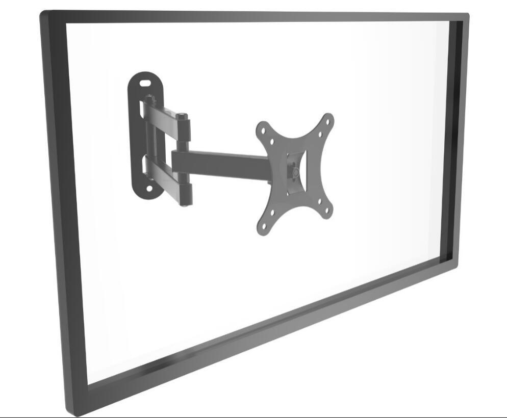 "TV Wall Mount Black or Silver Suggest Size 10-24"" LCD2001"