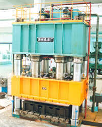 Hjs32-2500 Four-Column Hydraulic Press Machine