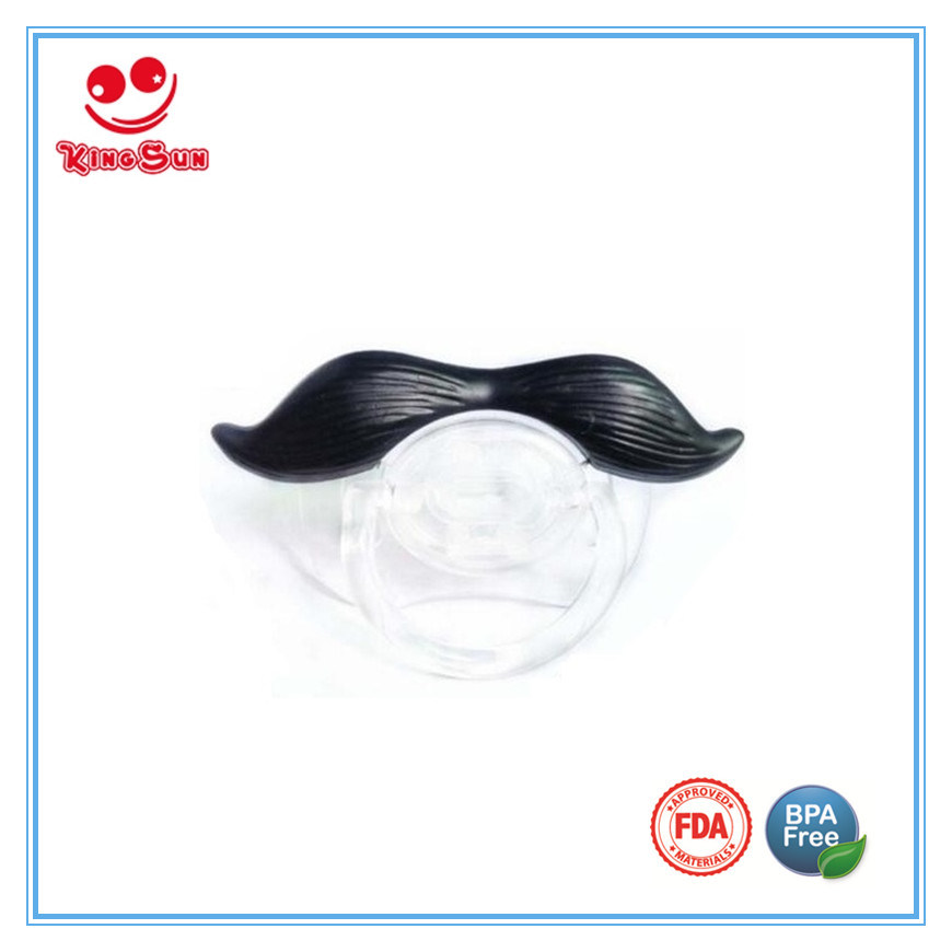 Funny Mustache Pacifier for Newborns