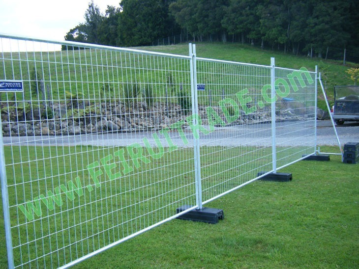 Hot Dipped Galvanized Temporary Fence in China
