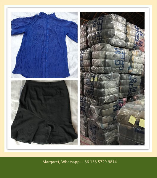 Used Clothes / Second Hand Clothing / Used Clothing / Fashiong & Shinning Baled Clothes (FCD-002)