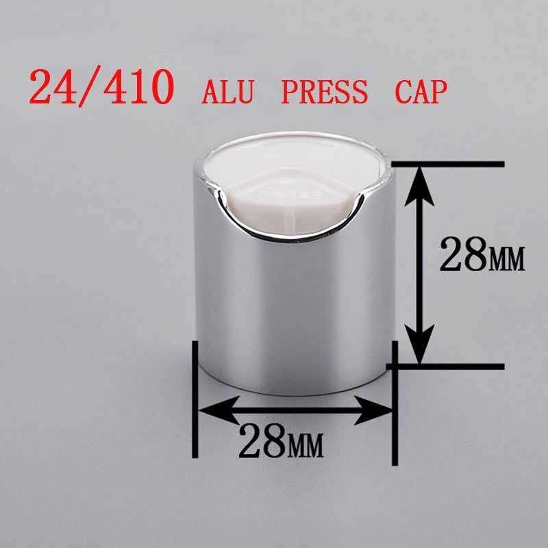 24/410 Alu/Plastic Disc Top Press Cap, Cosmetic Shampoo Bottle Cap