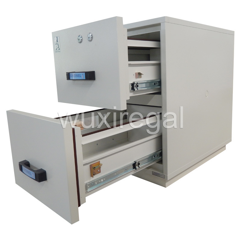 Drawer-Type Fire Resistant Metal Cabinet, High Quality Office Furniture (UL750FRD-II-2002)