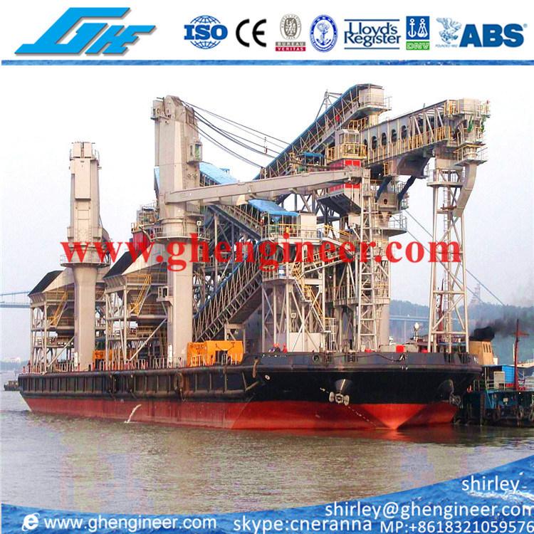 Floating Terminal Crane Unloading Barge