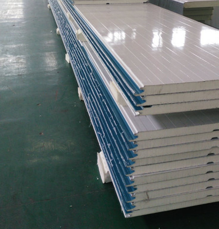 Polyurethane Foam Panels : China polyurethane foam material insulation sandwich panel