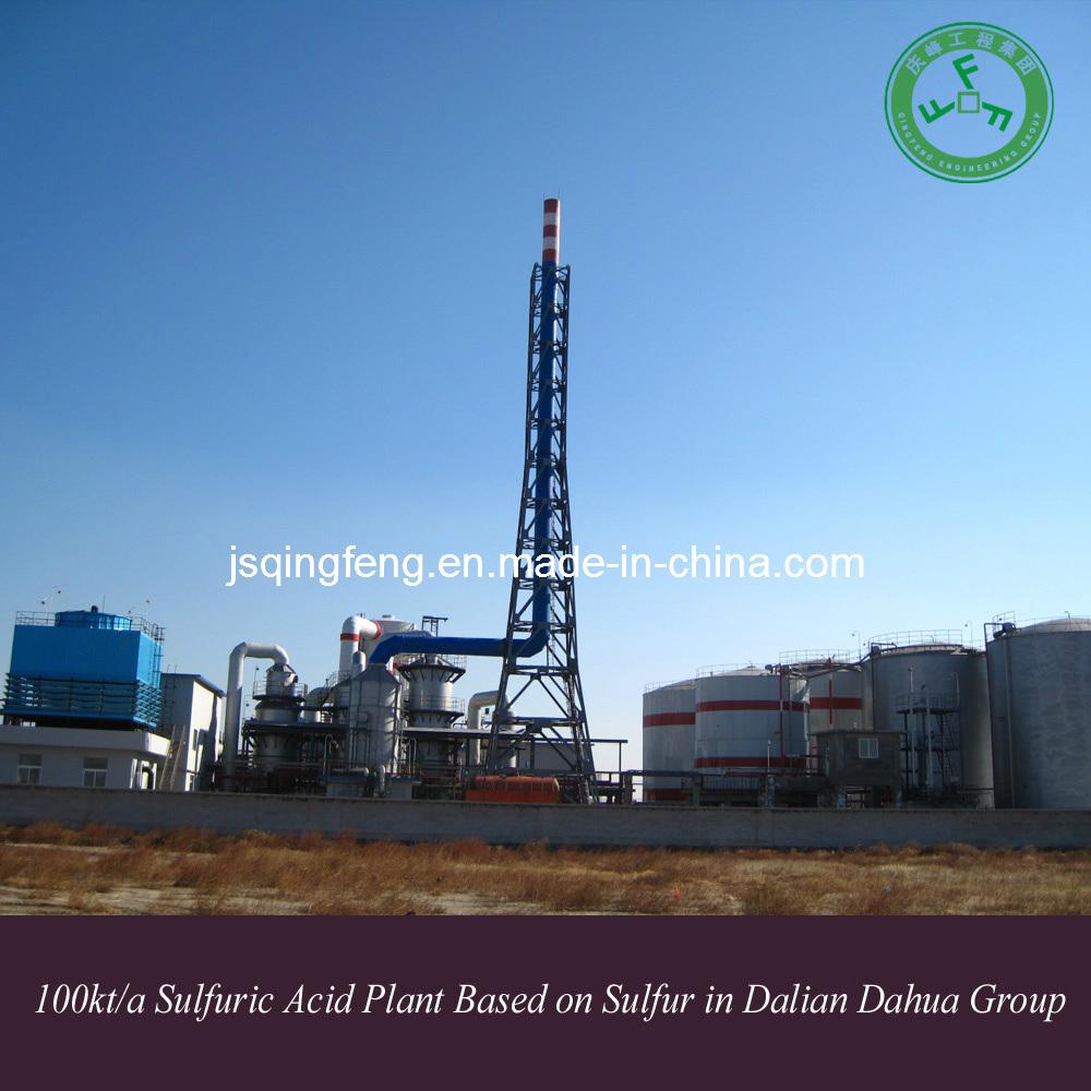 Dalian Dahua Group 100kt/a Sulfuric Acid Plant Based on Sulfur (QF-SAS)
