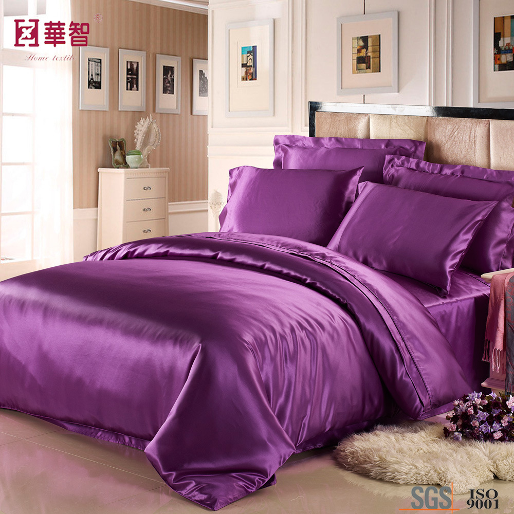 Luxury High Quality Silk Bedding Sets Hometextile