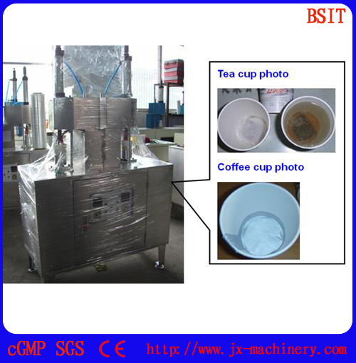 Tea Coffee Cup Hidden Filling Sealing Packing Machine (BS)