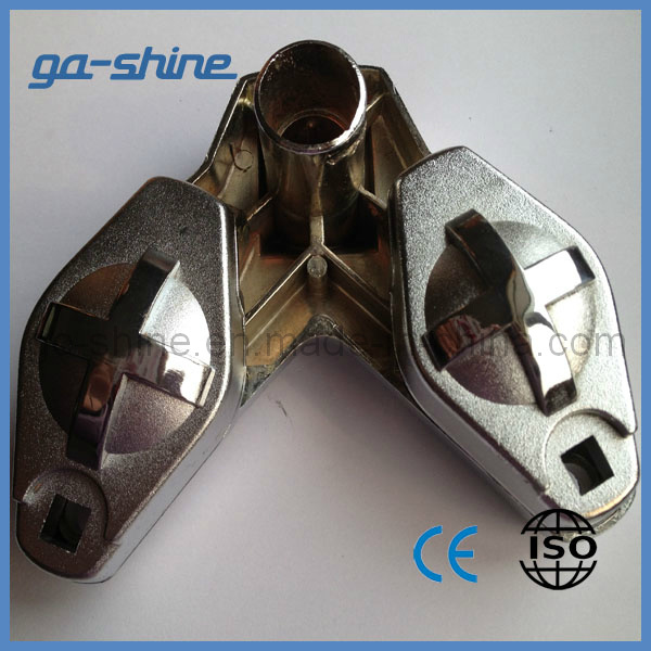 Zinc Alloy Ball Clip of Polishing and Chrome Plating