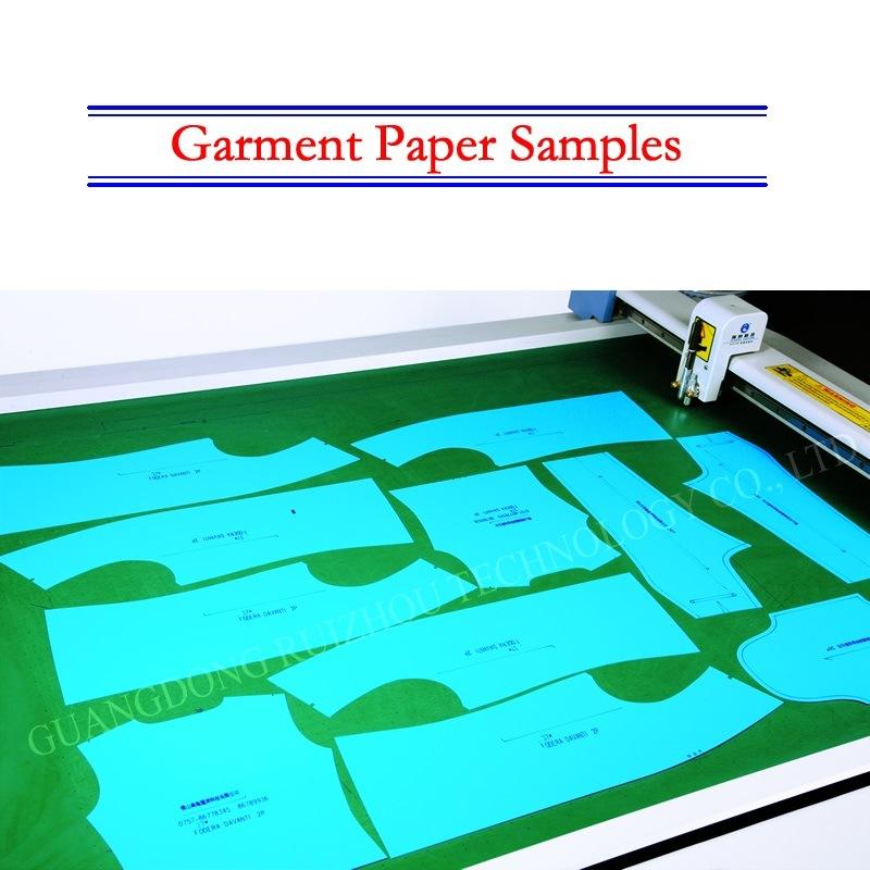 Computerized Drag Knife Cardboard Pattern Cutting Plotter