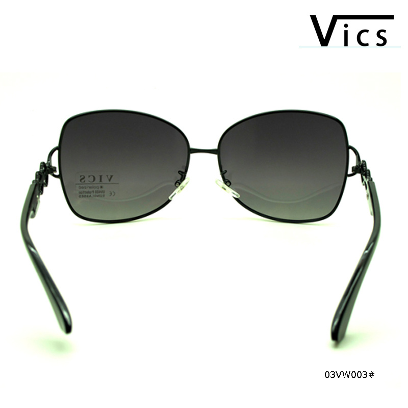 Women Style Metal Polarized Sunglasses (03VW003)
