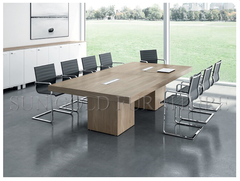New Design Ikea Furniture Elegant Meeting Table (SZ-MT031)