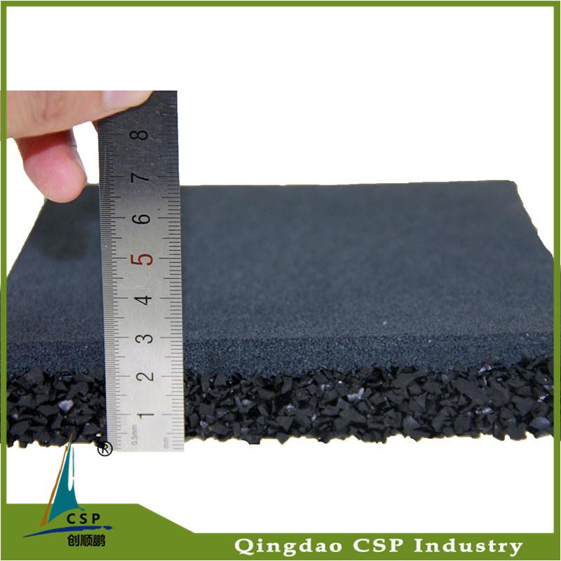15mm Rubber Flooring Tile for Weightlift
