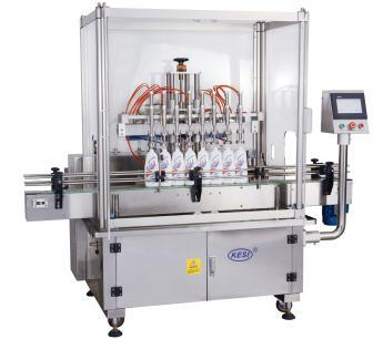 China Full Automatic Bottle Liquid Linear Piston Filling Machine (YBG)