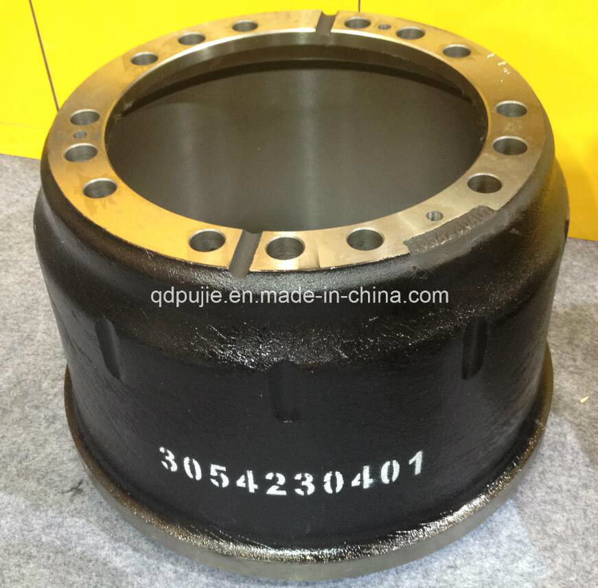 High Quality OEM 3054230401 Rear Truck Brake Drums for Benz