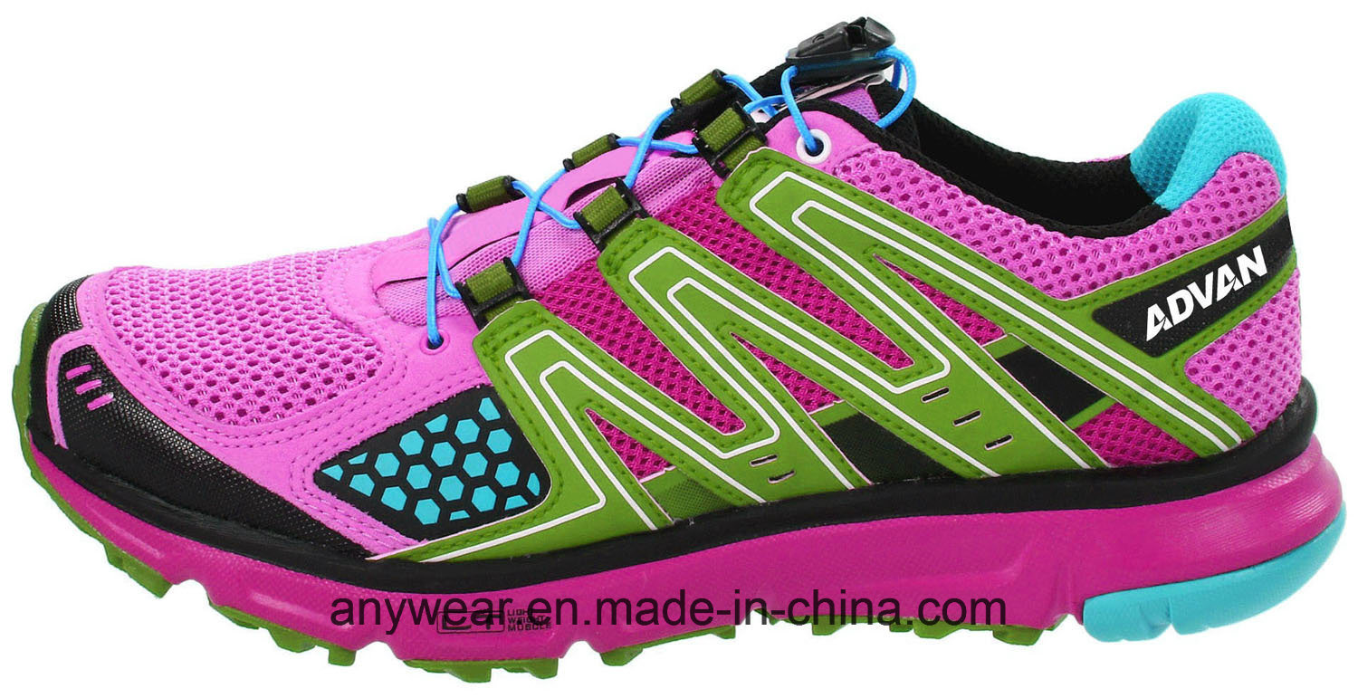 Athletic Women Running Footwear Ladies Gym Sports Shoes (515-7517)