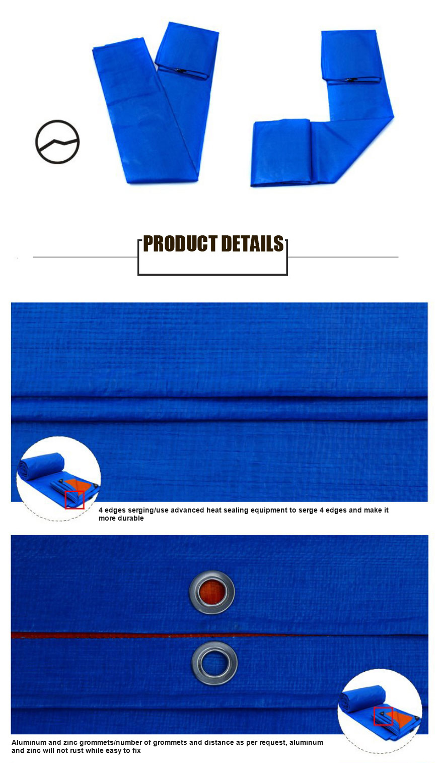 Good Quality PE Coated Tarpaulin/Tarp for Cover/Tent